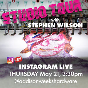 INSTA LIVE : Studio Tour with Stephen Wilson