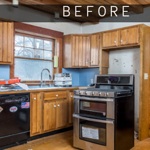 Before and After - Bargain Mansions on HGTV