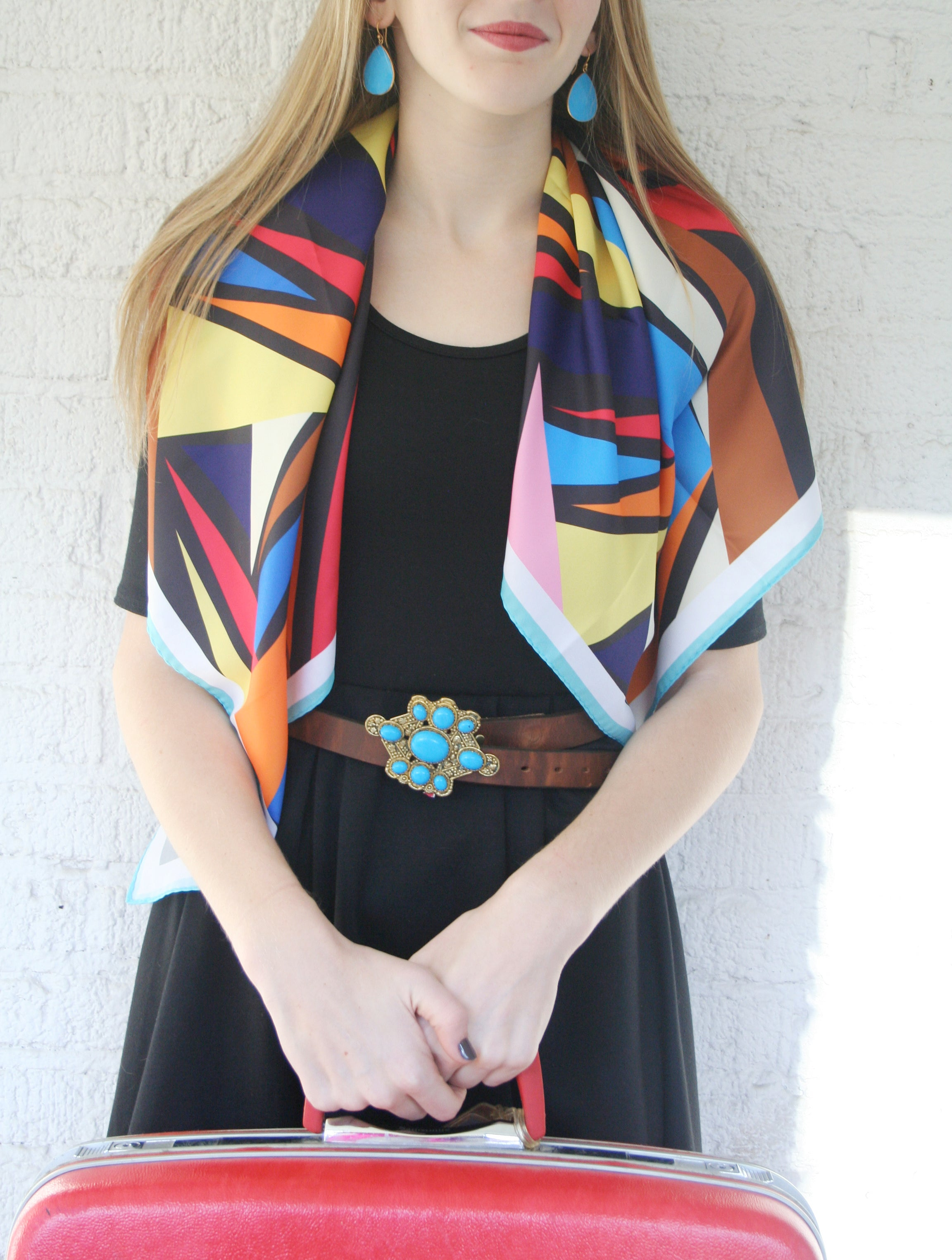 All scarves on sale for $40 (originally $68)