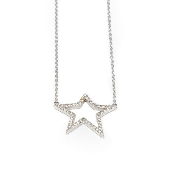 Diamond Star Necklace - Necklace - frannieb