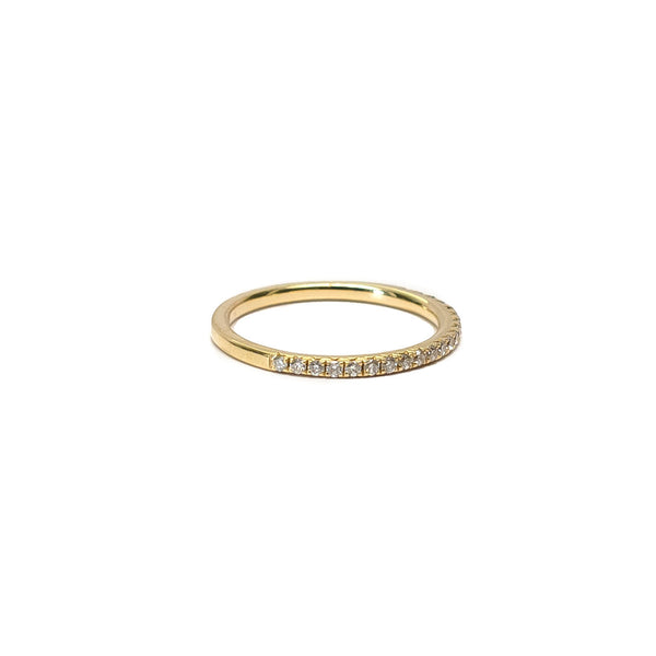 Pave Pinky or Midi Ring (0.15 tcw) - Ring - frannieb
