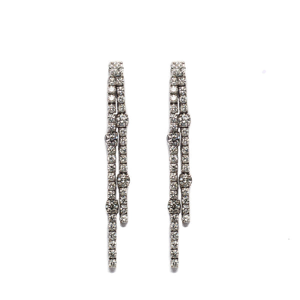 Diamond Linear Earrings