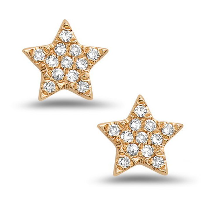 Diamond Star Earrings - Earrings - frannieb