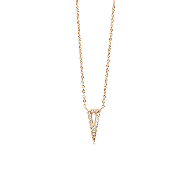 Triangle Spike Necklace - Necklace - frannieb