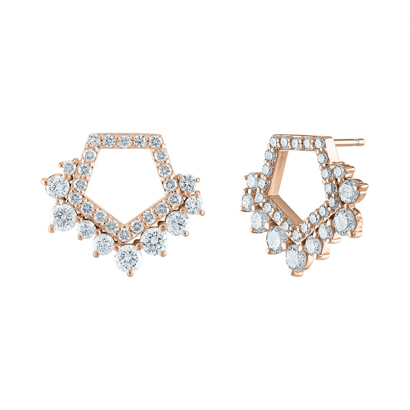Signature Cluster Earrings