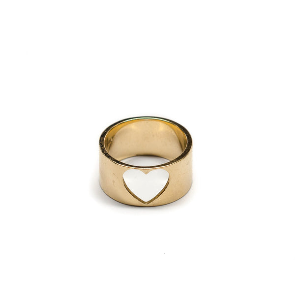 Cutout Heart Ring - Ring - frannieb