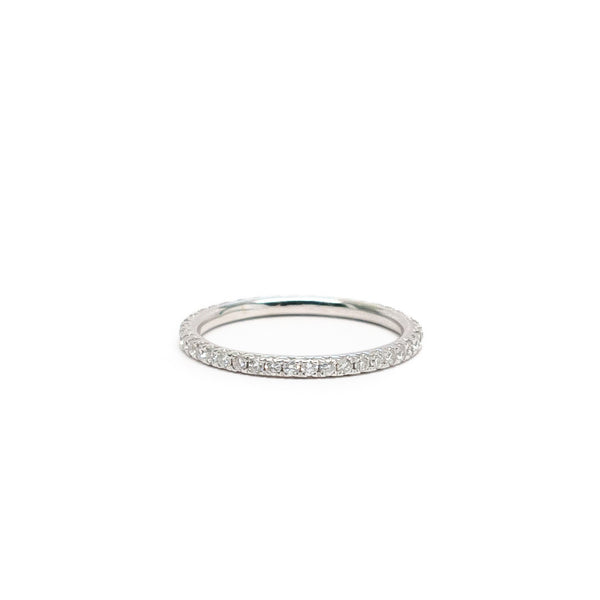 Pave Eternity Stack Ring (0.45 tcw)