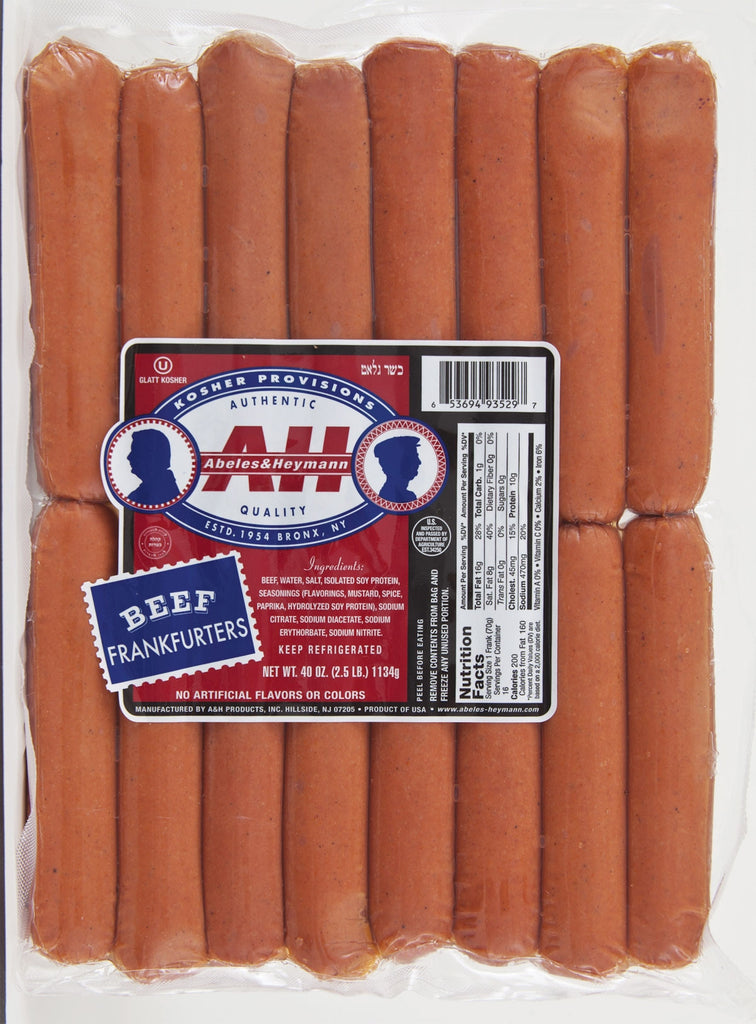 A & H Family Pack Franks