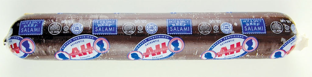 A & H Spicy Salami 32 oz.