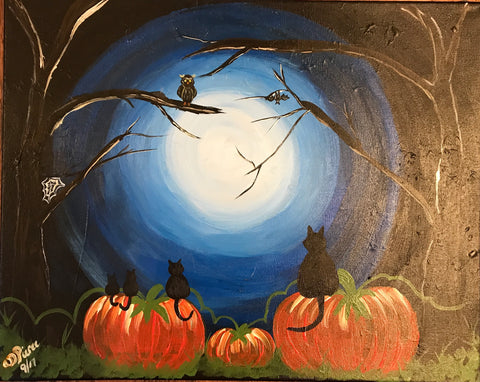 "Sun., Oct. 22, 2:00-4:30 ""Mommy!"" Public Wine and Painting Class, Bozeman, MT"