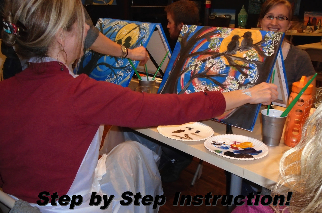 Bozeman painting and wine classes