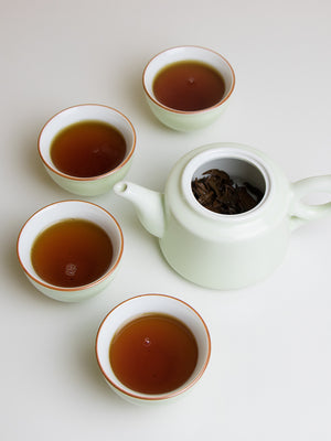 Mountain Black Tea from Jingmai mountain, Yunnan, China, with Beauty Shortlist wellbeing Award 2019 editor's choice
