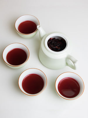 Organic Hibiscus Herbal Tea