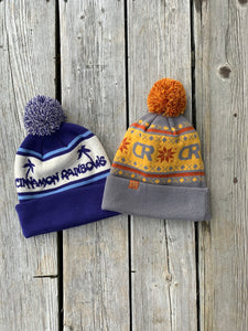 CR Slopes Pom Pom Beanie