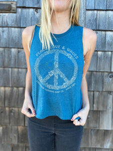 CR Peace, Love, Waves Tank
