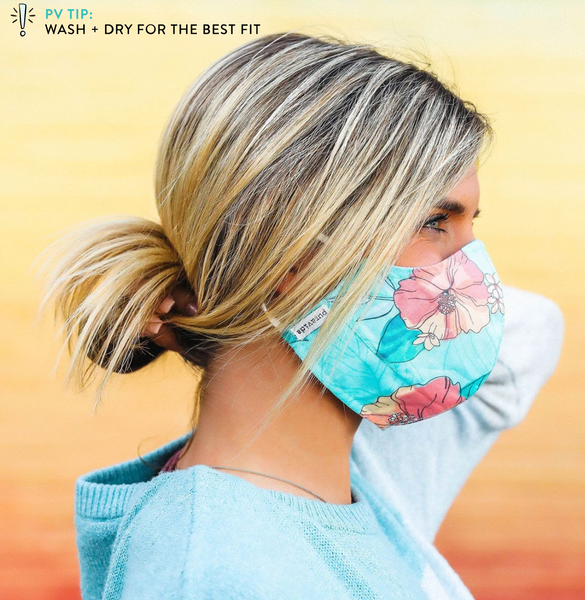 Pura Vida Adjustable Face Mask