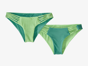 Patagonia Reversible Seaglass Bay Bottoms Ripple:Bud Green