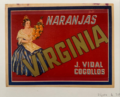 Naranjas Virginia Poster