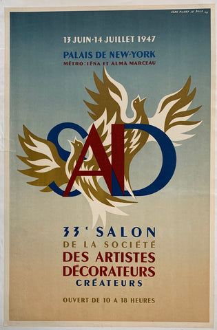33e Salon de la Societe des Artistes Decorateurs Createurs