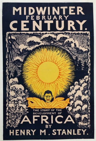 Midwinter February Century - The Story of the Development of Africa by Henry M. Stanley