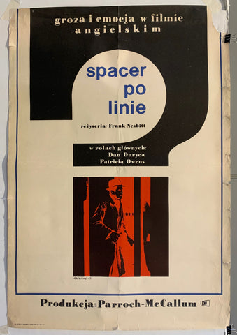 Spacer Po Linie Poster