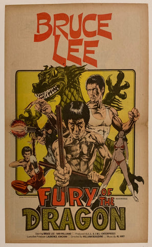 Fury of the Dragon Film Poster