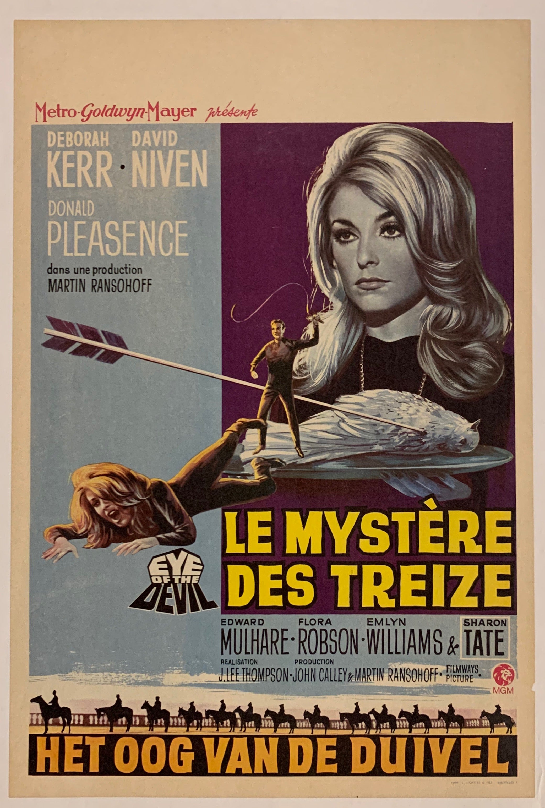 Le Mystère des Treize (Eye of the Devil) Film Poster