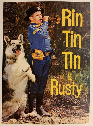 Rin Tin Tin & Rusty Film Poster
