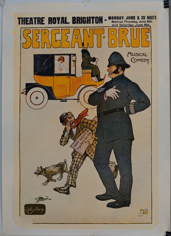 "Theatre Royal Brighton ""Sergeant Brue"""