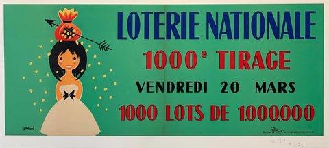 "Loterie Nationale: ""Money Bag on Head"" - Poster Museum"