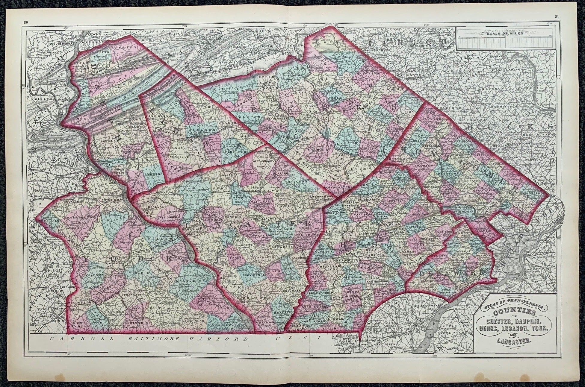 Atlas of Pennsylvania 10