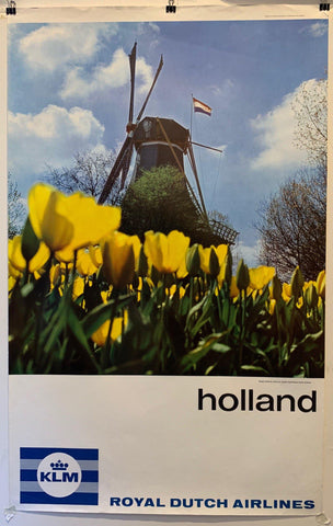 KLM Royal Dutch Airlines Holland - Poster Museum