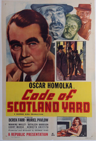 Code Of Scotland Yard Film Poster