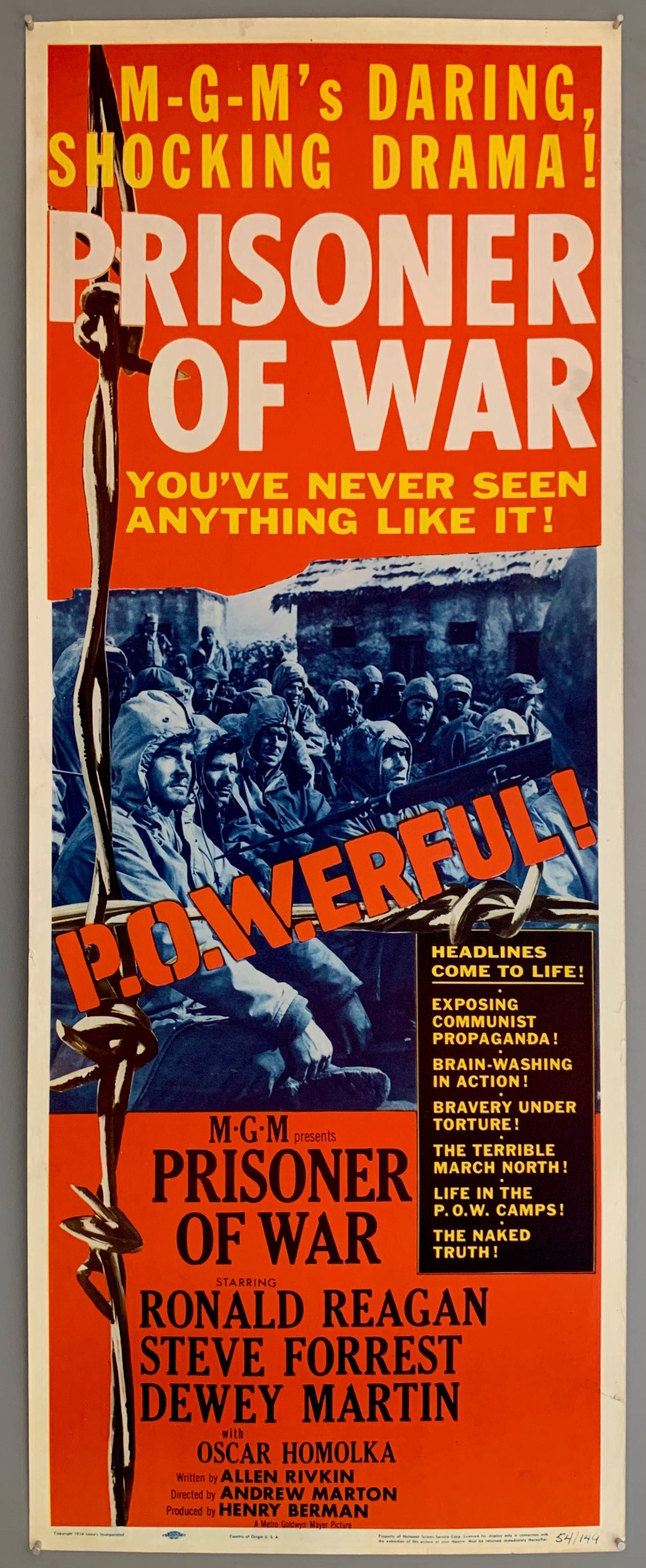 Prisoner of War Poster