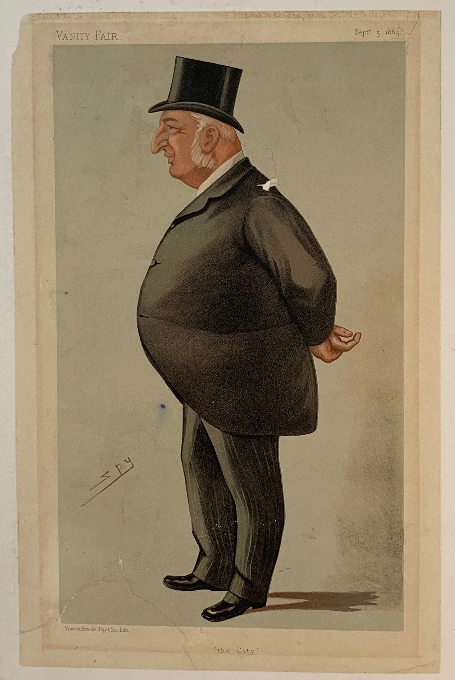 Vanity Fair Spy Caricature Print