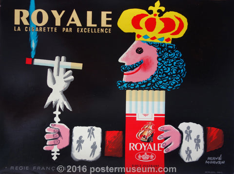 Royale La Cigarette par excellence