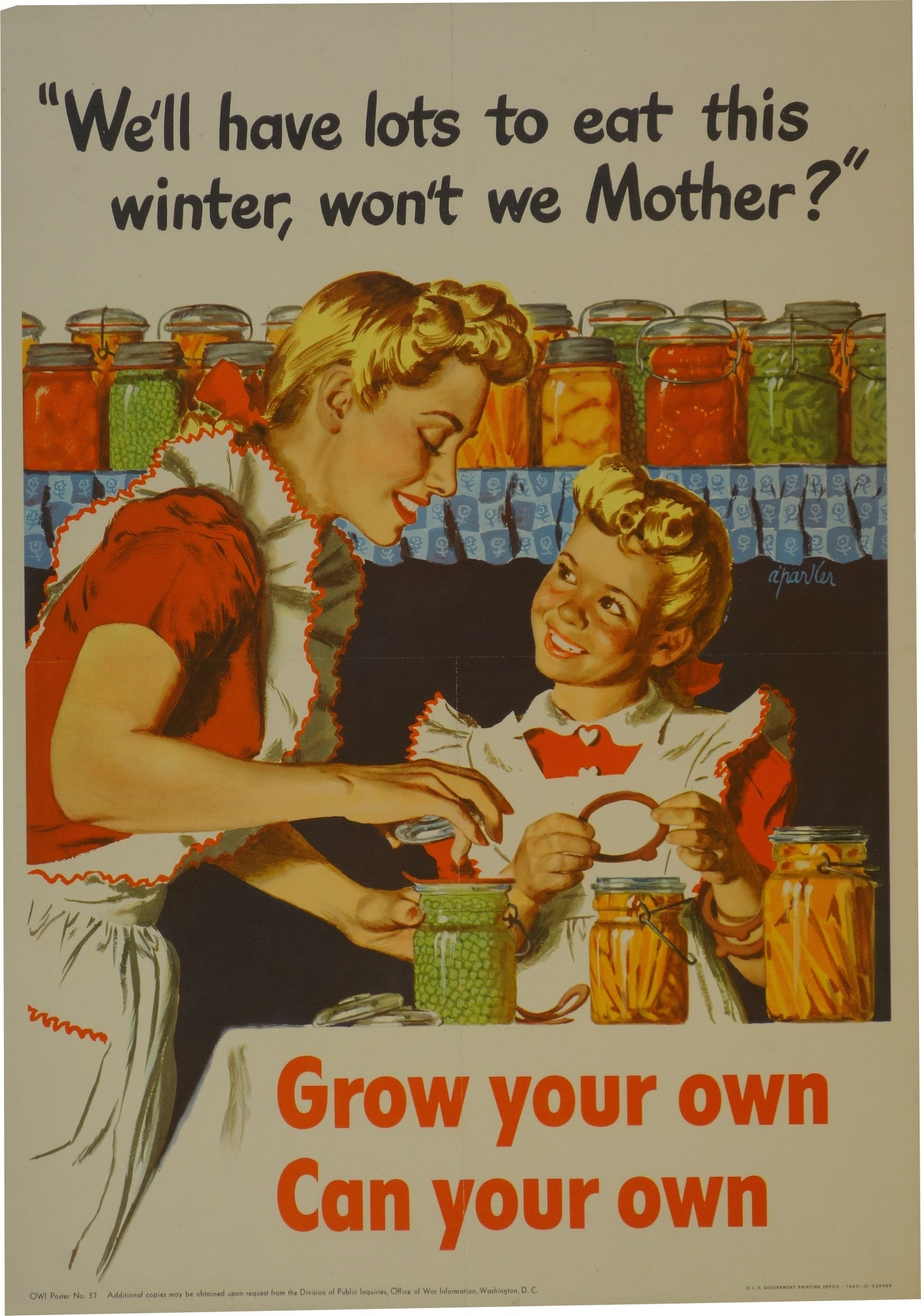 Grow your own, can your own