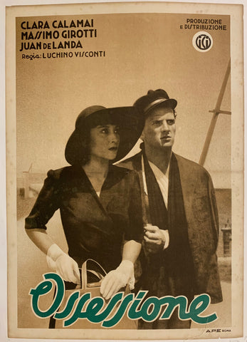 Ossessione Film Poster