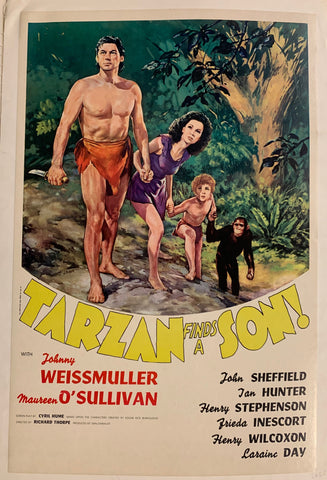 Tarzan Finds a Son! Film Poster