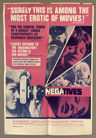 """Surely This Is Among The Most Erotic of Movies!"" -- Negatives - Poster Museum"