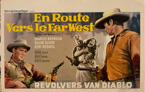 En Route Vers Le Far West Film Poster