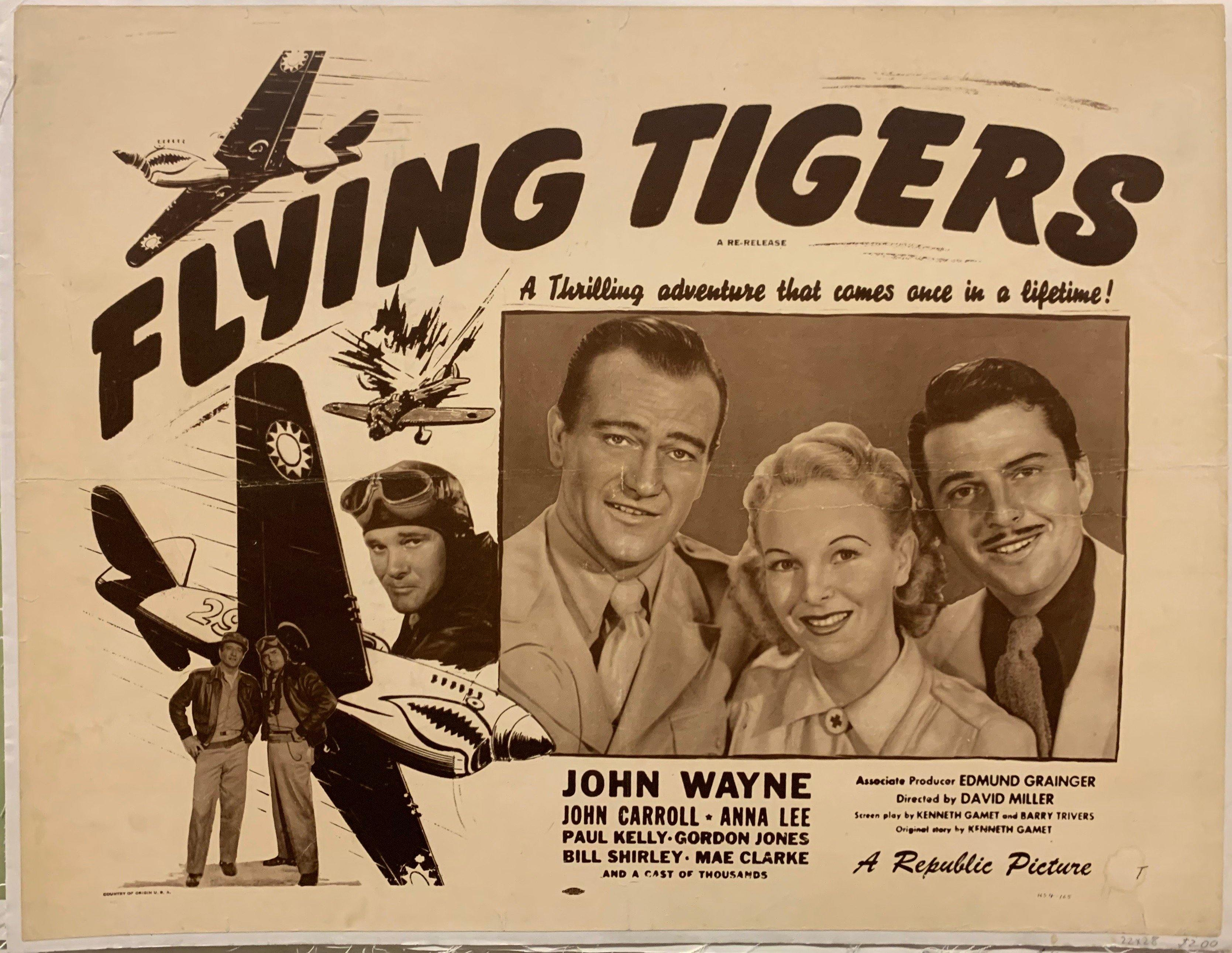 Flying Tigers Film Poster