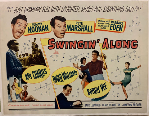 Swingin' Along Film Poster