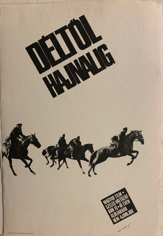 Déltöl Hajnalig (From Noon to Dawn) Film Poster