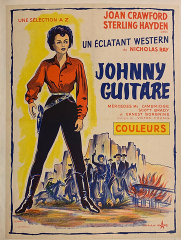 Johnny Guitare Film Poster