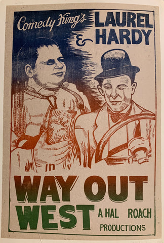 Way Out West Film Poster