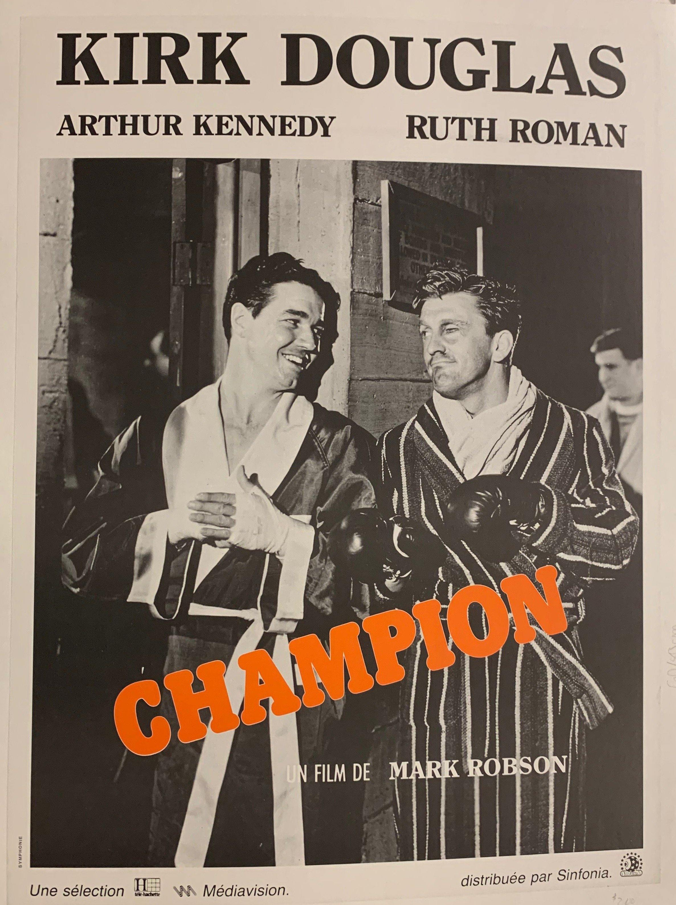 Champion Film Poster - Poster Museum