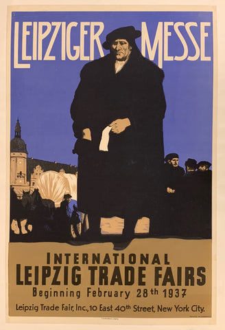 Leipzig Trade Fairs Poster