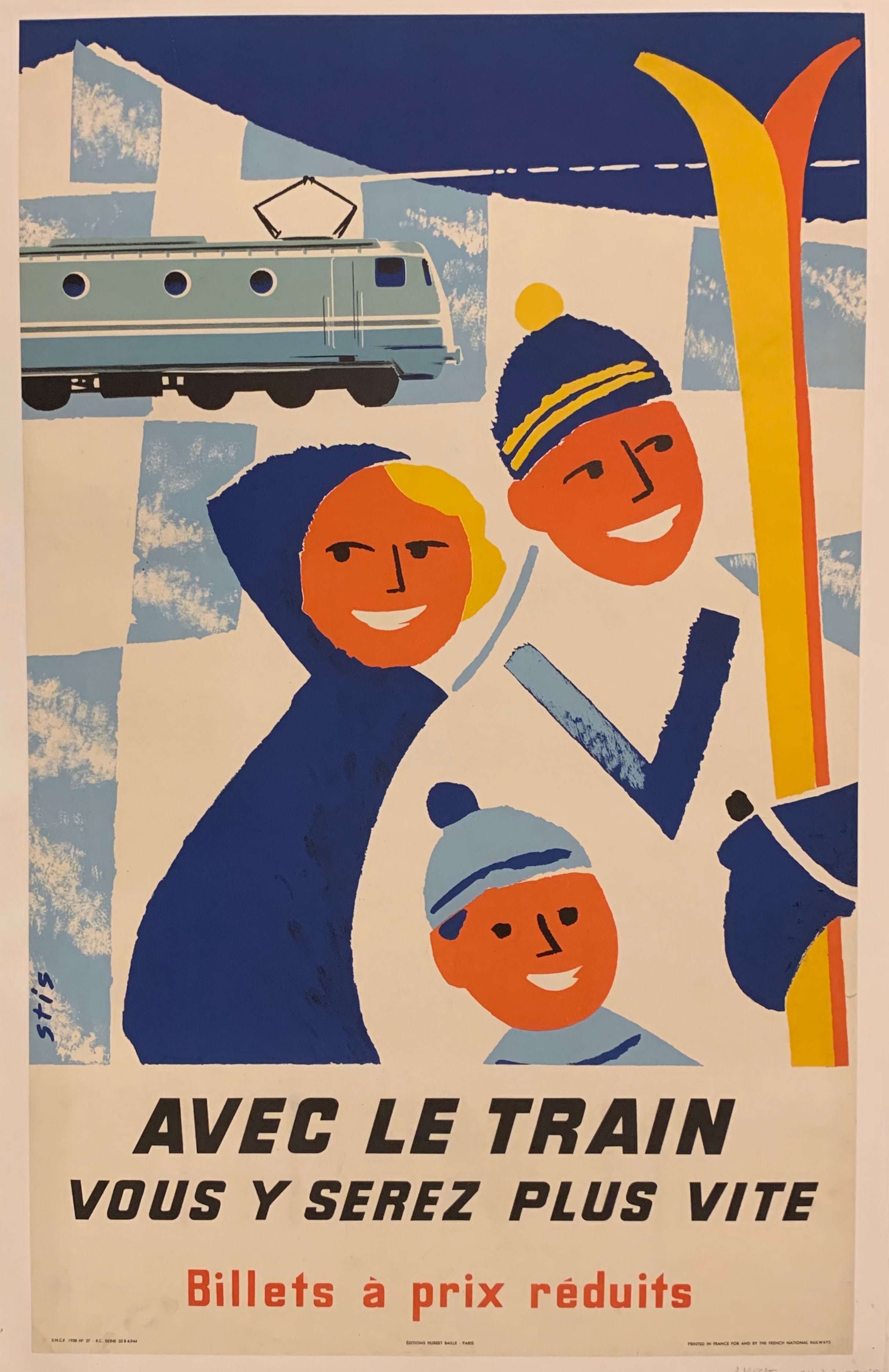 French National Railways Poster