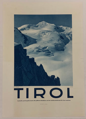 Tirol Travel Poster